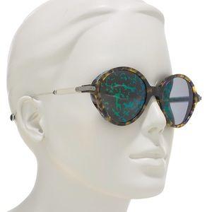 CHRISTIAN DIOR 52mm Umbrage Round Sunglasses 😎🏖